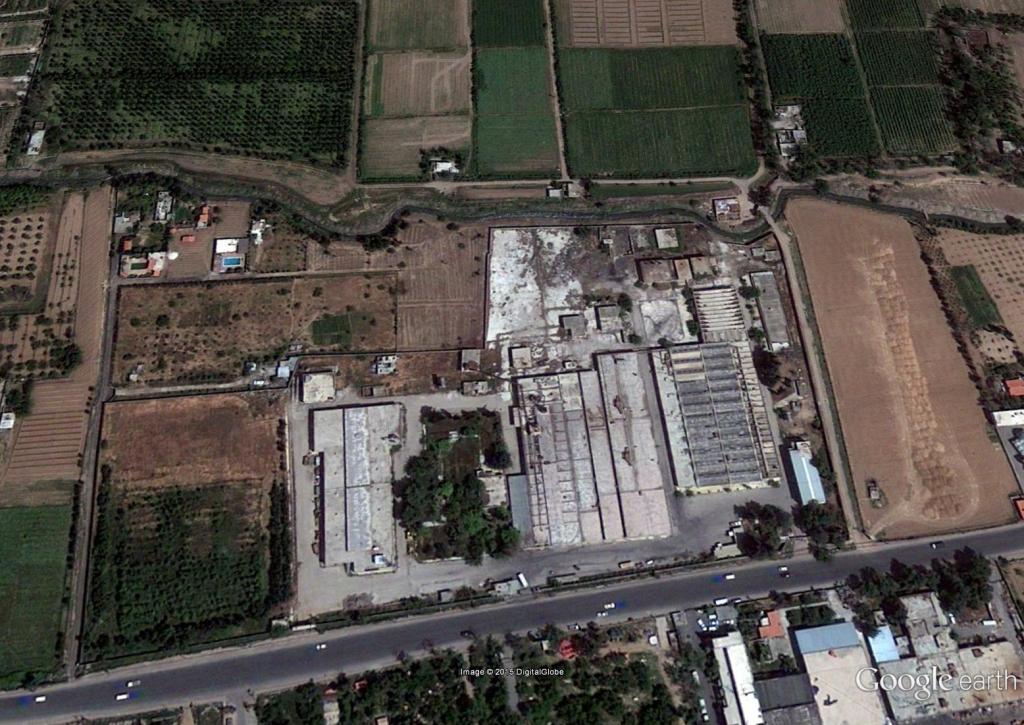 Coordinates: 33°29'33.21''N; 36°21'46.96''E. Image taken on 8/15/2014