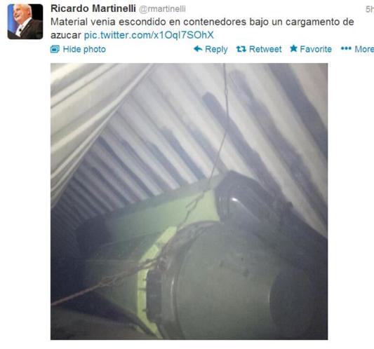 Martinelli tweet