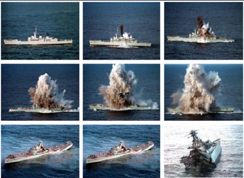 ROK Ship: Typical Torpedo Damage